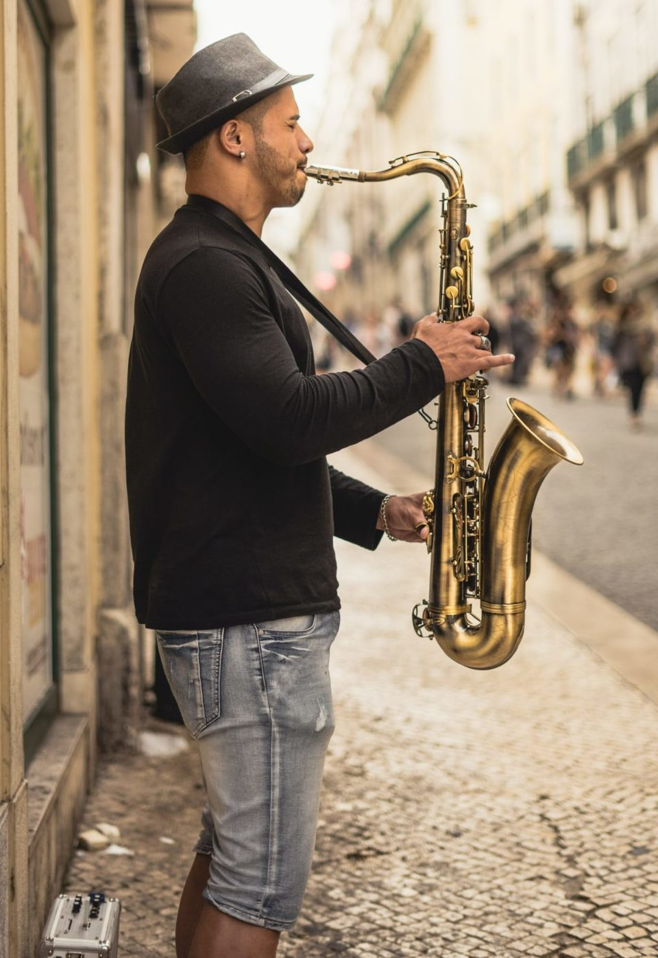 Sax-Player